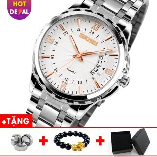 Đồng hồ nam doanh nhân đẳng cấp sang trọng SKMEI SK9069 dây thép không gỉ - đồng hồ nam - đồng hồ nam dây thép - đồng hồ nam thời trang - đồng hồ nam doanh nhân thumbnail