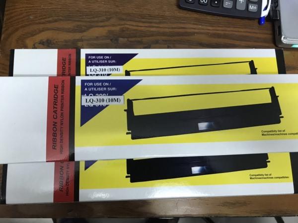 Bảng giá Ruy băng - Mực in Epson LQ 310 in đậm rõ nét - băng mực dùng cho máy in kim Epson LQ310 LX310 Phong Vũ
