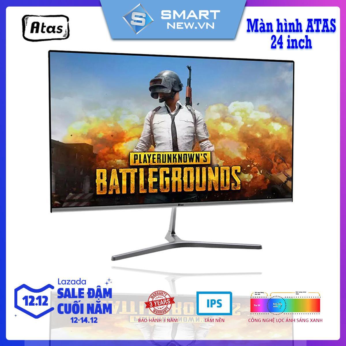 [ Có video ] Màn Hình máy tính không viền 24 inch ATAS MD240A - Full HD 1080P – Tấm Nền IPS – Bảo Hành 3 Năm