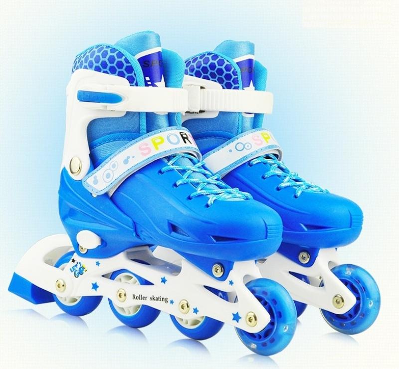 Phân phối Giày Patin Trẻ Em Tặng Mũ Và Đồ Bảo Hộ, Giày Trượt Patin Cho Bé Có Điều Chỉnh Size, Bảo Vệ Chân, Đầy Đủ Phụ Kiện – Chất Lượng Cao – Bảo Hành 1 Đổi 1