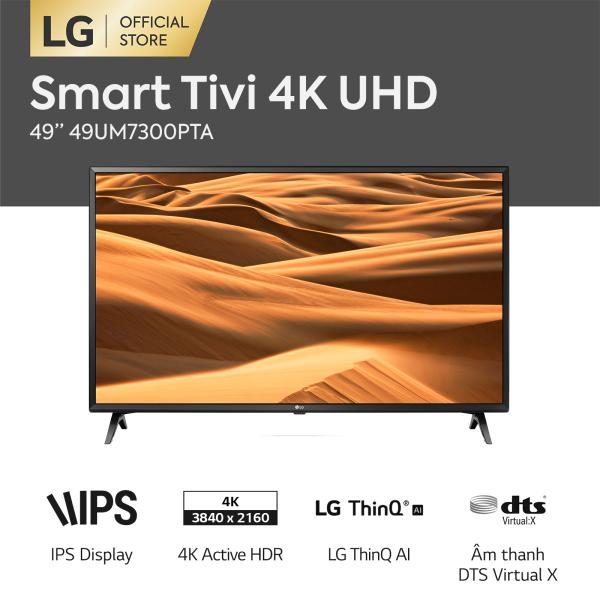 Bảng giá [FREESHIP 500K TOÀN QUỐC] Tivi LG UHD TV 49 inch 49UM7300PTA - Hãng phân phối chính thức