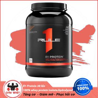Sữa Dinh Dưỡng Tăng Cơ RULE 1 Protein 2Lbs ( KG) Chính Hãng Authentic 100% Từ USA thumbnail