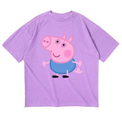 Cơ Hội Giá Tốt Để Sở Hữu Áo Thun Bé Trai Bé Gái In Hình Bé Heo PEPPA PIG Phiên Bản Siêu Anh Hùng Vải Dày Mịn Sản Phẩm Của Thời Trang Elsa