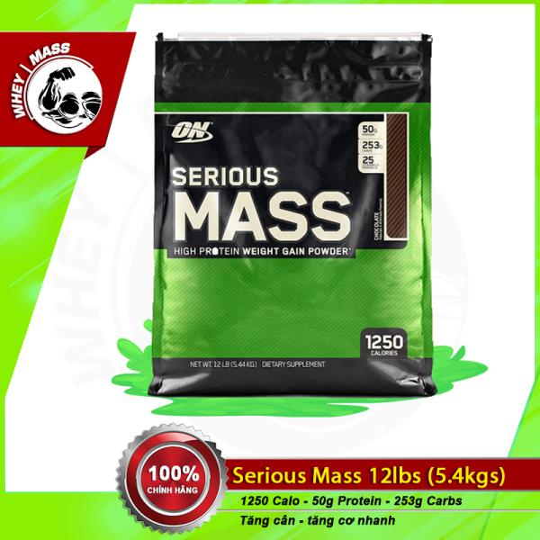 [HCM]Sữa Dinh Dưỡng Tăng Cân Cho Người Gầy Serious Mass 12lbs của On(5.6 kg) nhập khẩu
