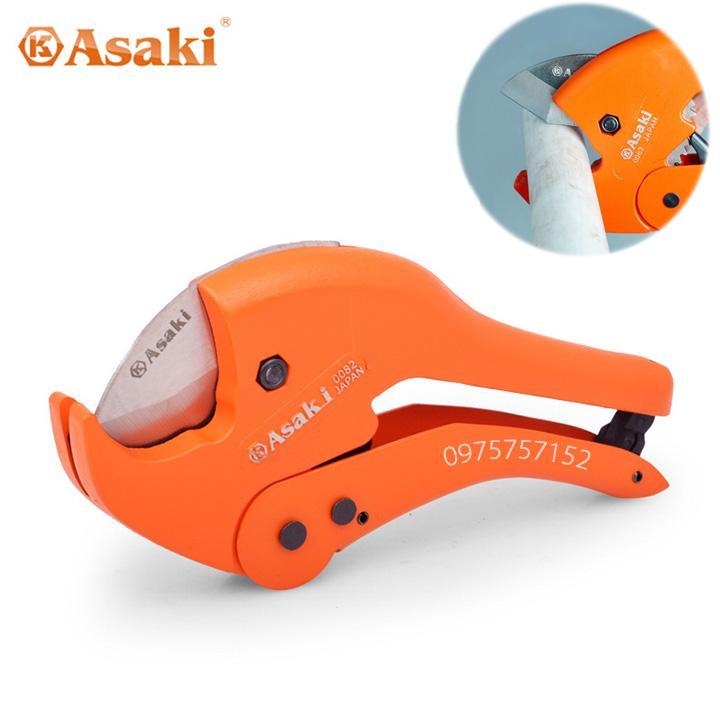Kéo cắt ống nhựa cao cấp PVC, PPR, PE Asaki 42mm (Hạng nặng)