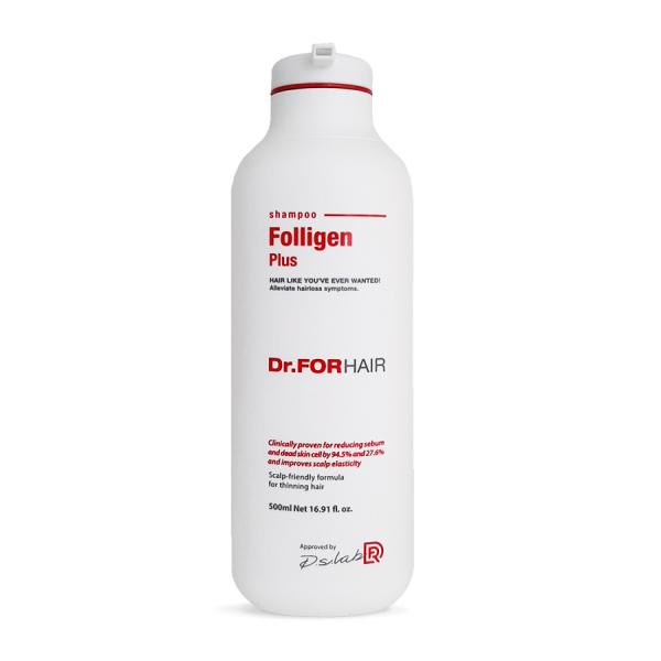 Dầu gội ngăn rụng tóc Dr FOR HAIR Folligen Plus Shampoo 500ml giá rẻ