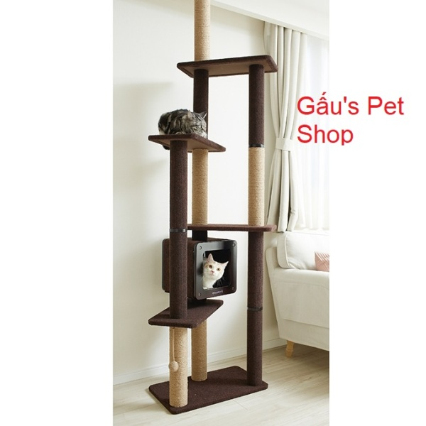84180 - Tháp mèo Double CattyMan