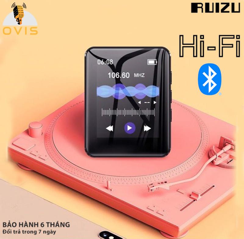 [BH 1 ĐỔI 1] Máy Nghe Nhạc Hifi Ruizu M4 Bluetooth 5.0, Cảm Ứng, Loa Ngoài (8G)