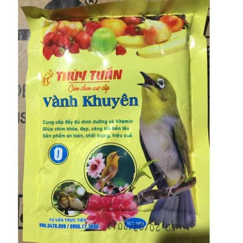 HCM-Cám chim - thức ăn chim VÀNH KHUYÊN THÚY TUẤN SỐ 0- 100gr (hanpet 223) - cám dành cho chim cảnh-HP10403TC
