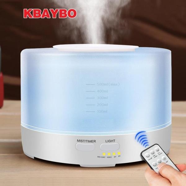 Bảng giá (TẶNG ĐIỀU KHIỂN TỪ XA+ TINH DẦU) Máy tạo ẩm khuếch tán tinh dầu Máy phun sương siêu âm hình trụ 500ML Điện máy Pico