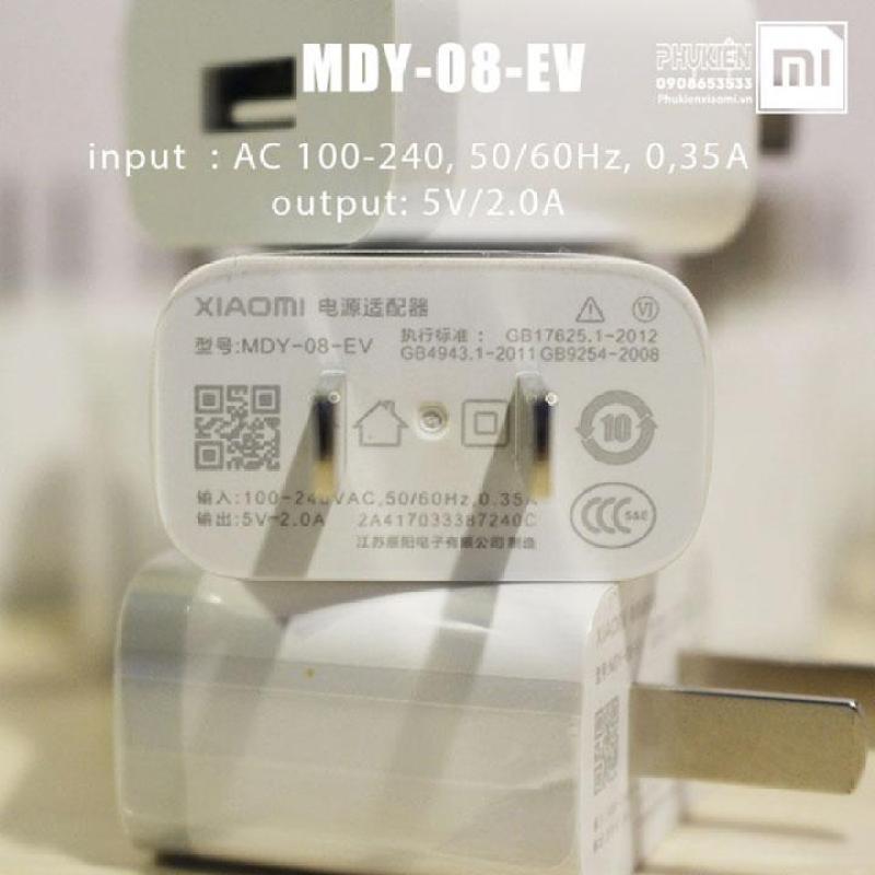Giá Bộ sạc Xiaomi MDY-08-EV 5V/2A + Cáp Micro USB - Hàng Nhập Khẩu