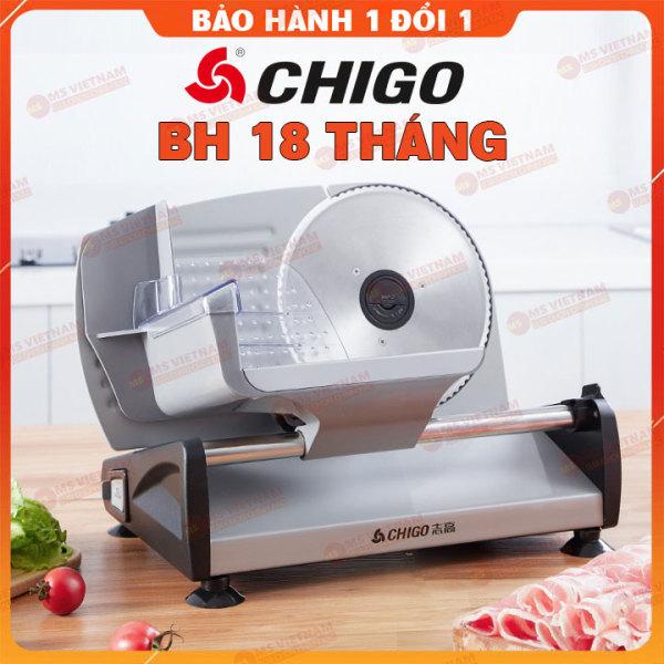 Máy thái thịt đông/ thịt chín Chigo - Dùng cho gia đình và nhà hàng