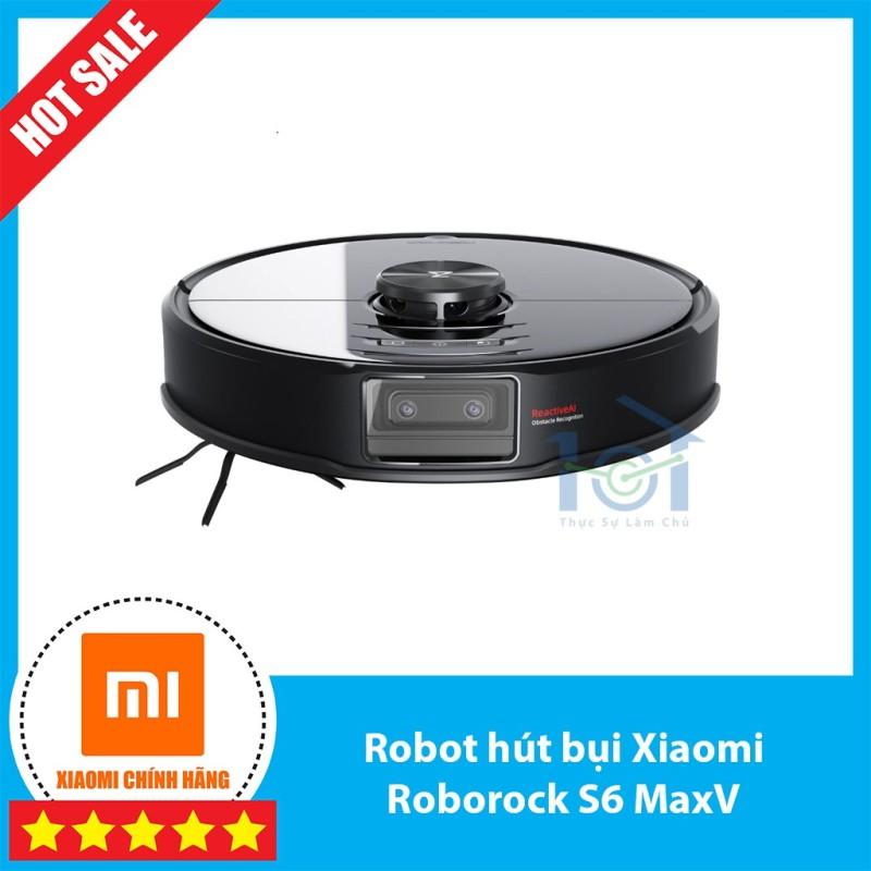 Robot hút bụi lau nhà Xiaomi Roborock S6 Max / S6 MaxV Camera kép AI,tích hợp trí tuệ nhân tạo, chế độ pet - bản quốc tế
