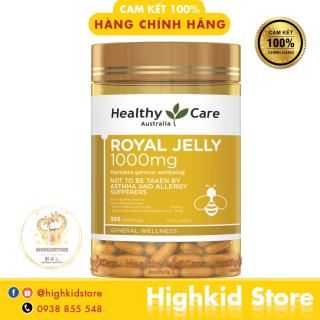 Sữa ong chúa Royal Jelly Healthy Care 365v 1000mg Úc - Date xa thumbnail