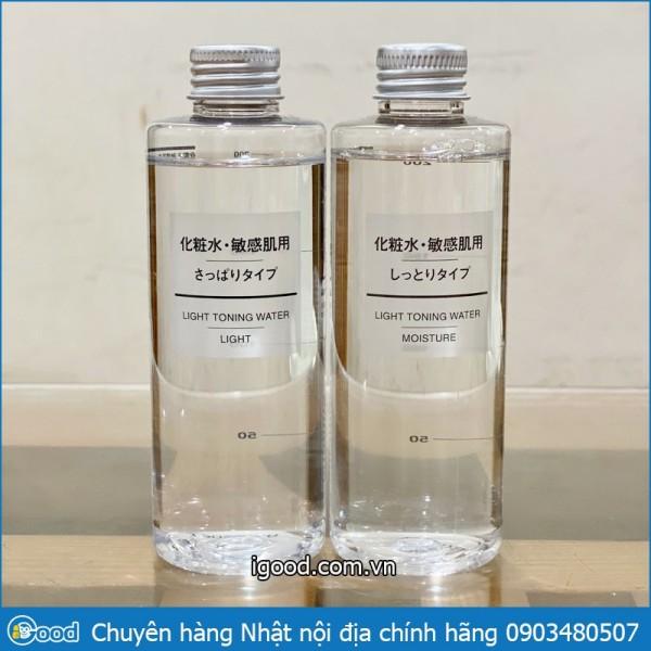 Nước hoa hồng Toner MUJI cân bằng da 200ml Nhật - Moisture giá rẻ
