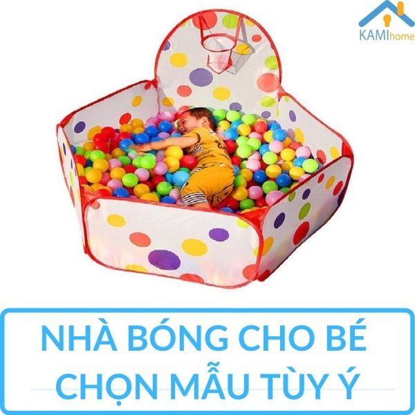 Nhà bóng vải cho bé trai cỡ Lớn chất lượng cao ( KHÔNG KÈM BÓNG) chọn mẫu 120cm KamiHome vận chuyển nhabong nhabanh leubong leubanh dochoi đồ chơi trẻ em