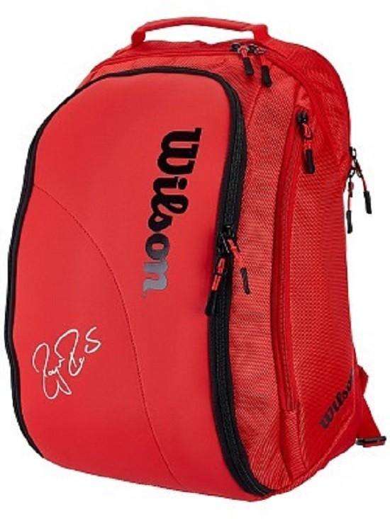 Bảng giá Balo Tennis nam- Ba lô túi đựng vợt Tennis Wilson cao cấp mầu đỏ