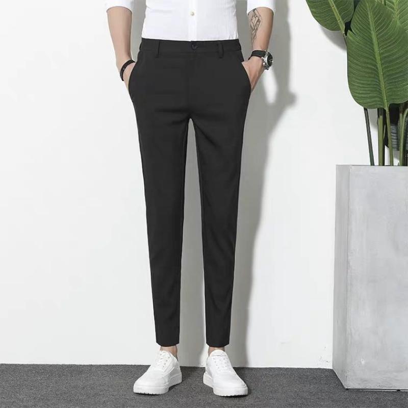 Quần tây nam đen kiểu dáng Hàn Quốc Quan âu nam thời trang công sở ( ảnh thật 100%)