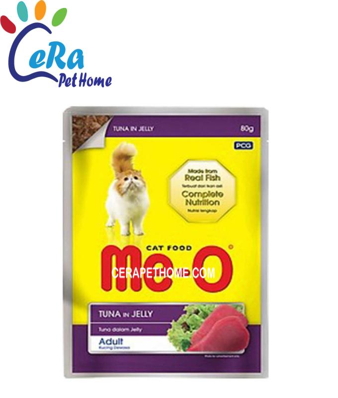 Pate Cho Mèo Tuna In Jelly - Pate Me-o (80gr x 48)