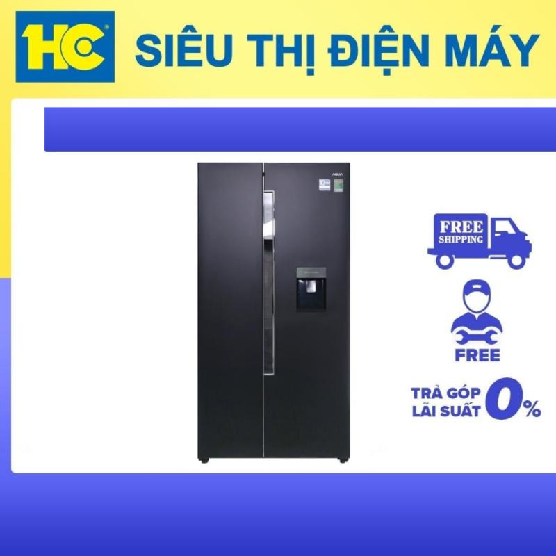 Tủ lạnh SBS Aqua AQR-I565AS(BS)