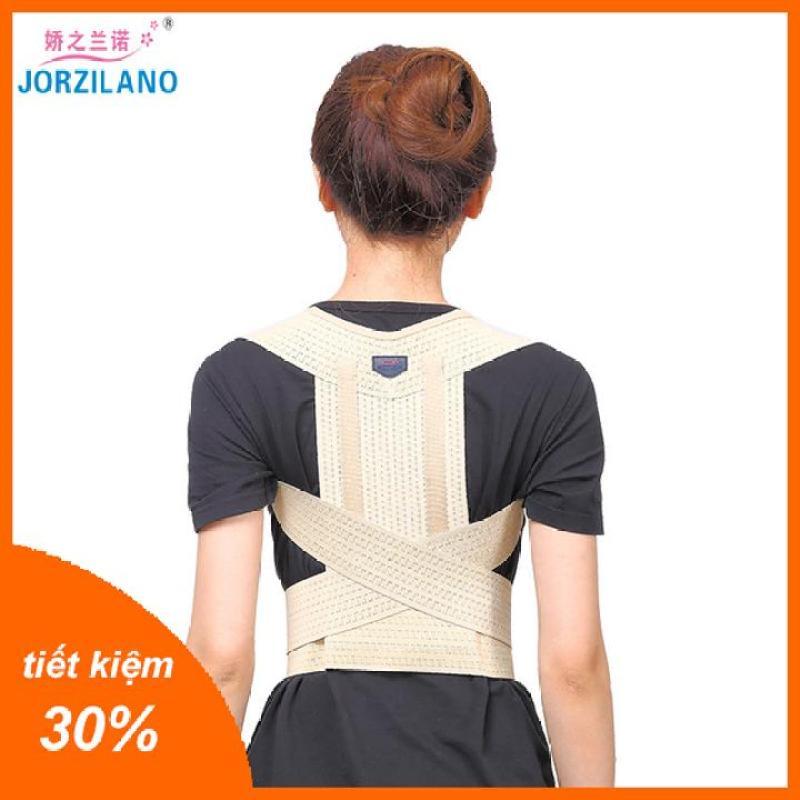 Đai chống gù lưng Jorzilano nhật bản cải thiện cột sống, lưng tôm bản dài full lưng nhiều kích thước