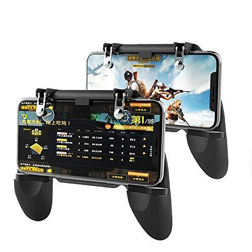 Tay Cầm chơi Game W10 Chơi PUBG, Ros, Free Fire Controller - Tay Cầm W10