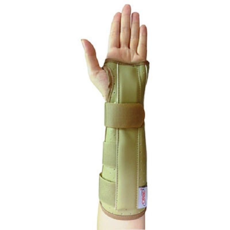 Nẹp cẳng tay da ORBE - Nẹp cố định cẳng tay - Nẹp chấn thương tay - Hàng chính hãng - ORBE -22(Xám)