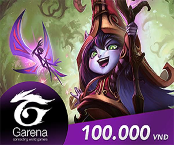 Mã Coupon Thẻ Game Garena 100.000 VNĐ