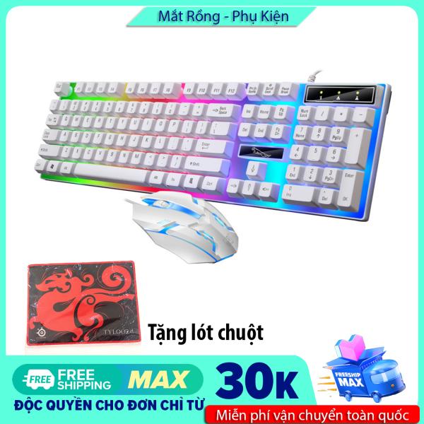 Bảng giá [Tặng lót chuột Y1] Combo chuột và bàn phím chuyên game giá rẻ G21B/T11 (chọn màu khi đặt hàng) Phong Vũ