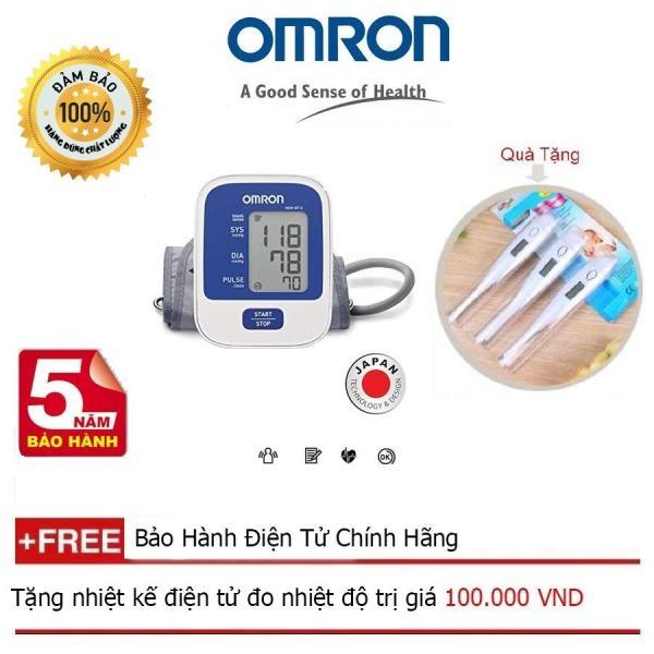 Máy Đo Huyết Áp Bắp Tay Omron Hem 8712 + Quà tặng nhiệt kế gia đình trị giá 100K