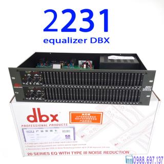 [Giá Sốc] lọc tiếng âm thanh dbx 2231 - lọc xì Equalizer dbx 2231 +TẶNG dâyCANON thumbnail