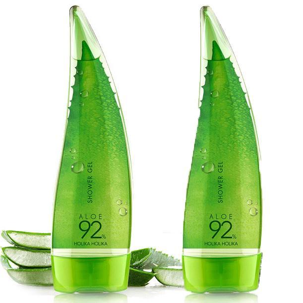 Sữa Tắm Dưỡng Da Lô Hội Dạng Gel Holika Holika Aloe 92% Shower Gel - 250ml