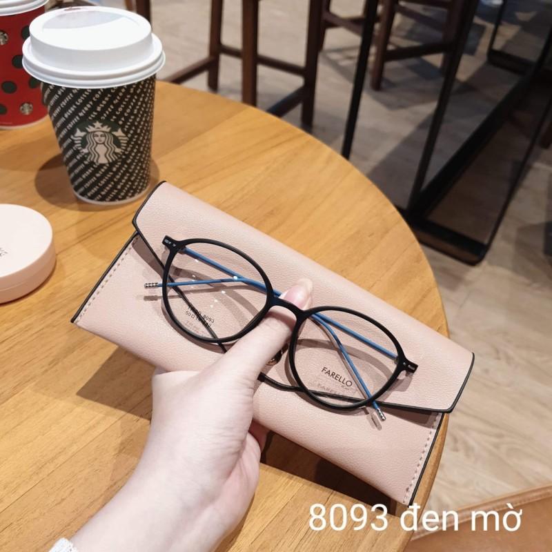 Giá bán Gọng kính cận tròn, càng kính mảnh nhẹ 8093