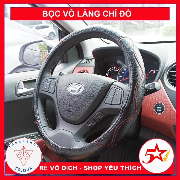 [XẢ KHO 3 NGÀY] Bọc vô lăng da xe ô tô – Bọc tay lái xe hơi – Bao tay lái giá rẻ cho Morning, i10, Vios, Toyota, Kia, Hyundai, Mazda – BVL M3 - TUSAN SHOP