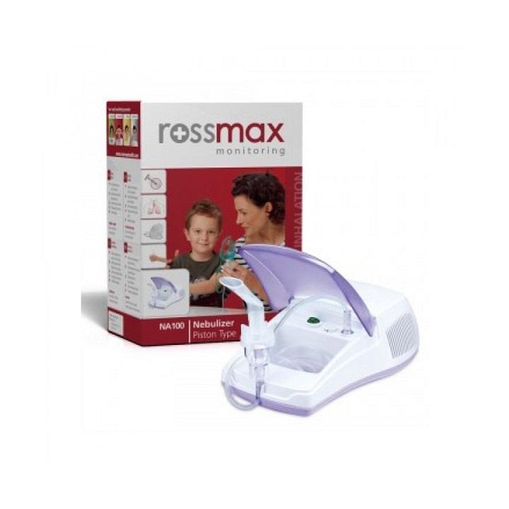 Máy xông mũi họng  máy xông khí dung rossmax NA100 - Có hút mũi cao cấp