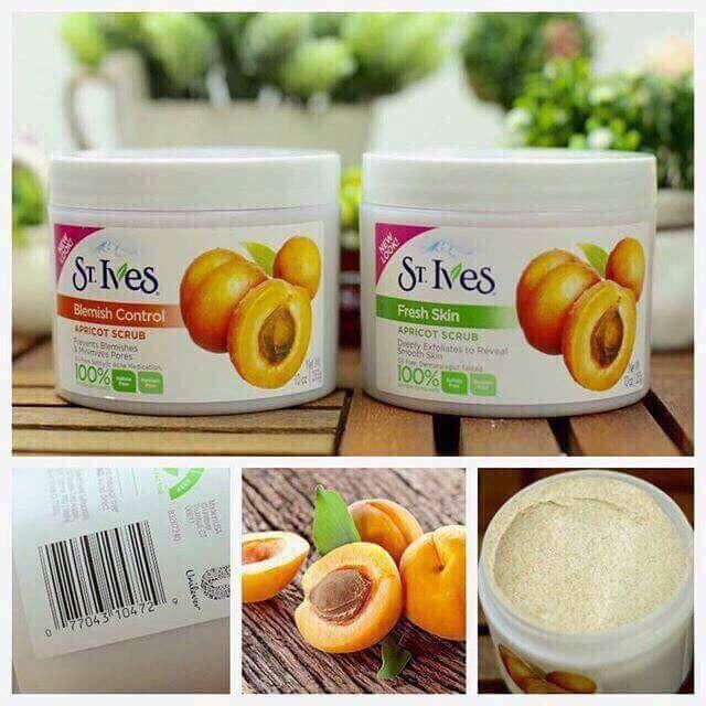 Tẩy Tế Bào Chết Toàn Thân St.Ives Apricot Body Scrub 283gr cao cấp