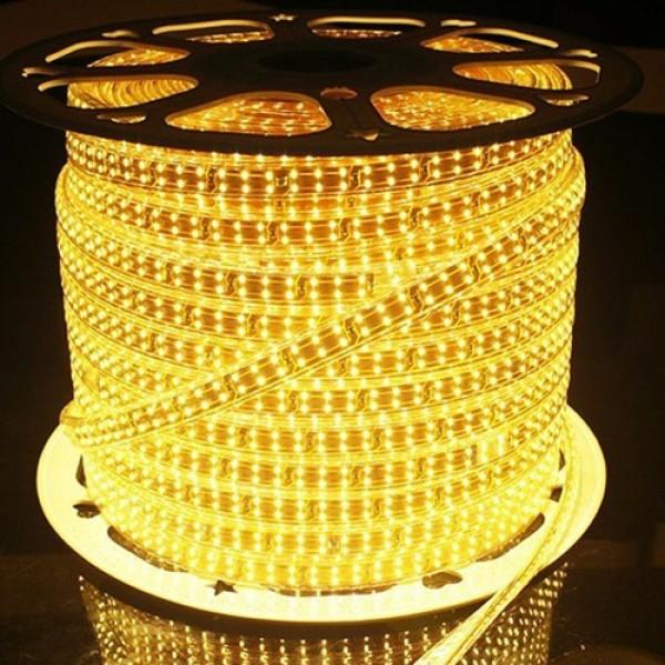 Bảng giá Led dây siêu sáng.siêu bền 3 hàng lõi đồng xin  AS vàng/ Trắng Giá 20K/1m