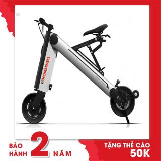 Xe điện scooter thể thao Homesheel AONE X Phiên bản mới-bảo hành 2 năm-màu bạc thumbnail