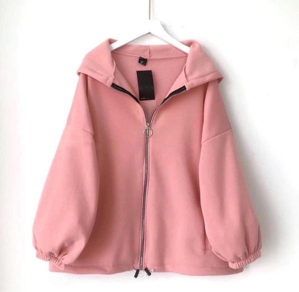 [FREESHIP TOÀN QUỐC] Áo khoác nữ form rộng, áo hoodie nữ form rộng có dây kéo tay cánh dơi