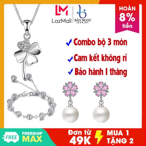 Ra mắt Combo bộ trang sức bạc cao cấp 3 món mới Bảo Ngọc Jewelry