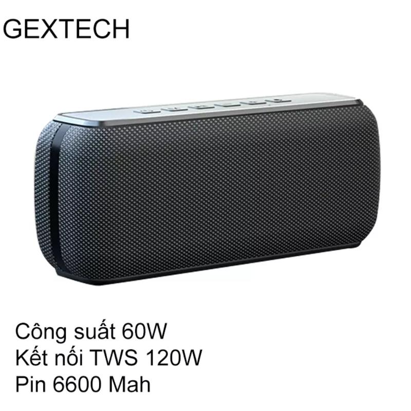 [VOUCHER 7%] Loa Bluetooth 60W công suất lớn Super Bass chống nước IPX5 pin 6600MAH sạc nhanh Type C công nghệ AI Hàng Chính Hãng PKCB