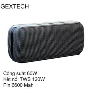 Loa Bluetooth 60W công suất lớn Super Bass chống nước IPX5 pin 6600MAH sạc nhanh Type C công nghệ AI Hàng Chính Hãng PKCB thumbnail