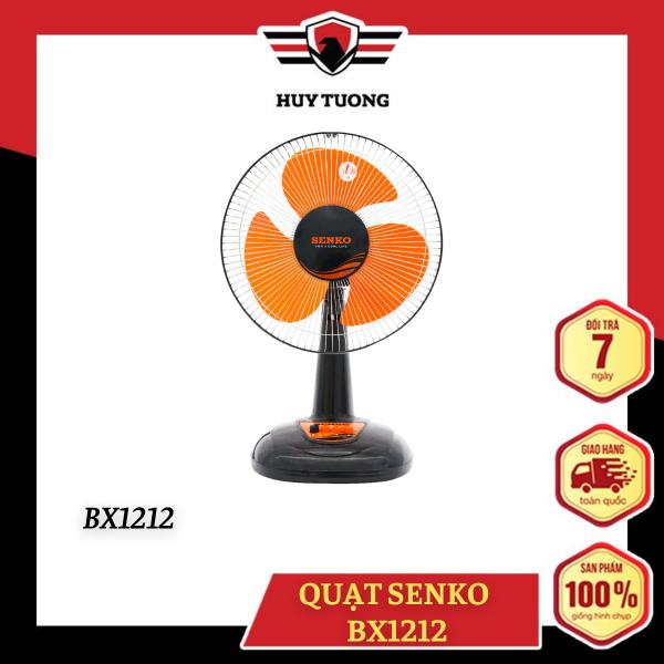 Quạt điện Senko ( BH động cơ 1 năm ) mẫu mới BX1212 - Huy Tưởng
