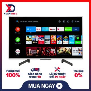 Android Tivi Sony 4K 43 inch KD-43X8500G S Điều khiển tivi bằng điện thoại Ứng dụng Android TV, Ứng dụng Video & TV SideView,Công nghệ hình ảnh Nâng cấp hình ảnh 4K X-Reality PRO, Màu sắc sống động Live Colour - giao hàng miễn phí HCM thumbnail