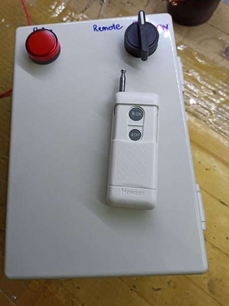 Bộ điều khiển bật tắt bơm nước từ xa 5.5kw