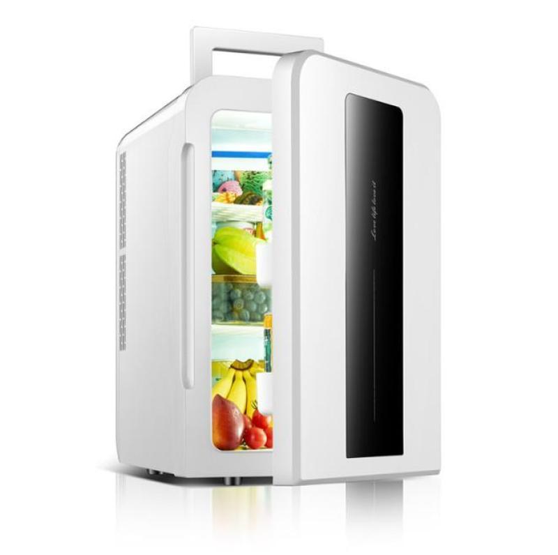Euro Quality Tủ lạnh mini 22L ô tô và nhà -3 độ 12v/220v (Black&White LCD)