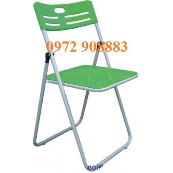 Ghế gấp Hòa Phát màu xanh lá giá rẻ