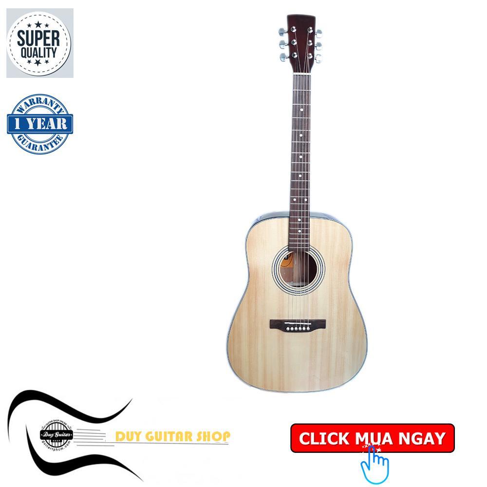 Đàn guitar Acoustic DD120T guitar tay trái - Cây đàn guitar dành cho người thuận chơi guitar tay trái - Shop Duy Guitar - Uy tín - Chất lượng