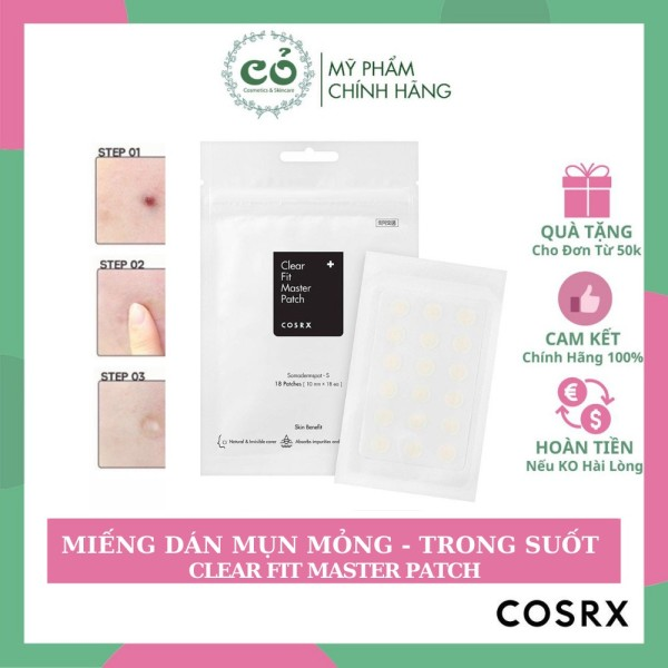 Miếng dán mụn Cosrx Clear Fit Master Patch