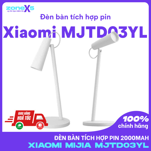[HCM]Đèn bàn Xiaomi Mijia tích hợp pin 2000mAh - Thiết kế sang trọng 40h chiếu sáng bảo vệ mắt